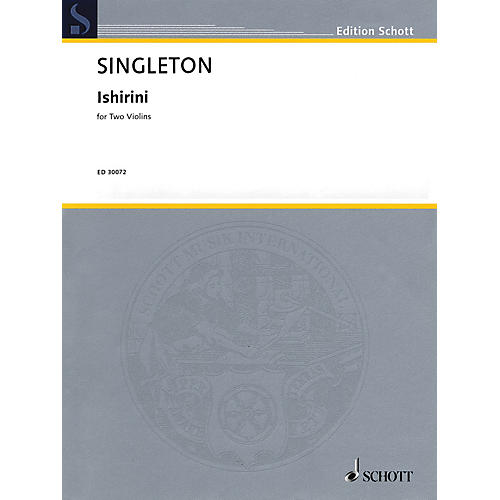Schott Music Corporation New York Ishirini (Two Violins Two Performance Scores) String Series Softcover-thumbnail