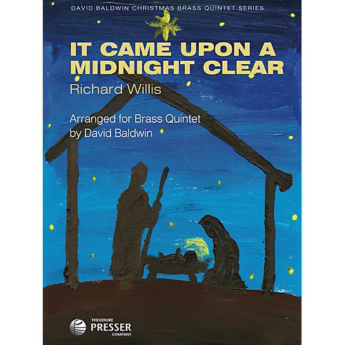 Carl Fischer It Came Upon A Midnight Clear (For Brass Quintet)-thumbnail