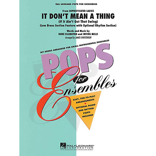 Hal Leonard It Don't Mean a Thing Concert Band Level 2.5 Arranged by James Christensen-thumbnail