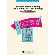 Hal Leonard It Don't Mean a Thing Jazz Band Level 1-2 by Duke Ellington Arranged by Michael Sweeney