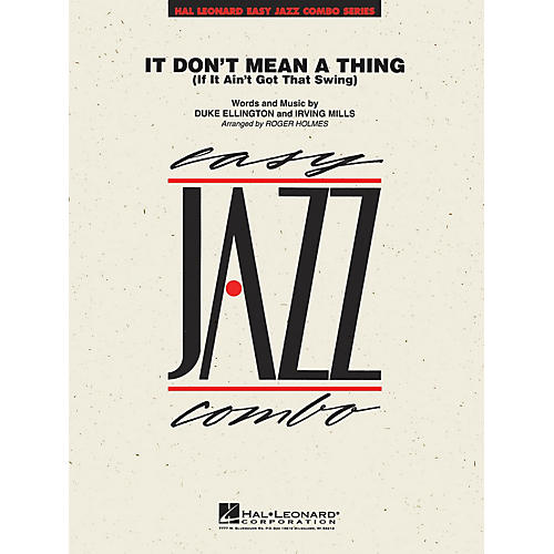 Hal Leonard It Don't Mean a Thing Jazz Band Level 2 Arranged by Roger Holmes-thumbnail