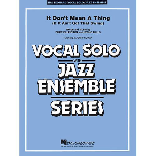 Hal Leonard It Don't Mean a Thing (Key: Cmi) Jazz Band Level 3-4-thumbnail