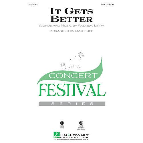 Hal Leonard It Gets Better SAB arranged by Mac Huff-thumbnail