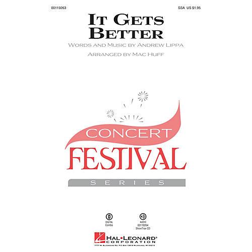 Hal Leonard It Gets Better SSA arranged by Mac Huff
