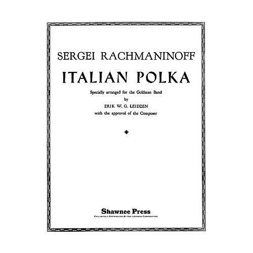 Hal Leonard Italian Polka Concert Band Level 3 Composed by Leidzen