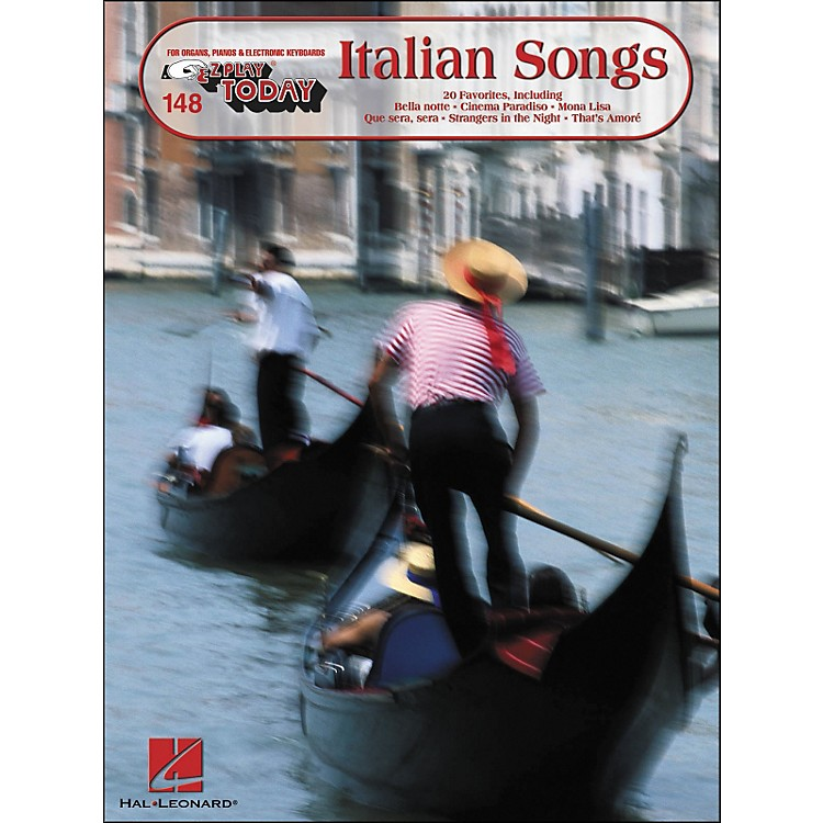 Hal Leonard Italian Songs E-Z Play 148
