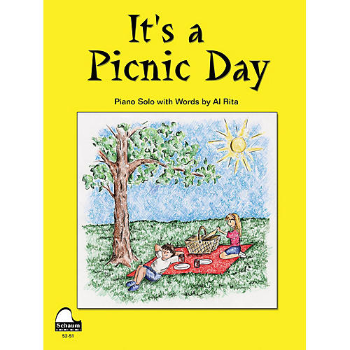 SCHAUM It's A Picnic Day Educational Piano Series Softcover