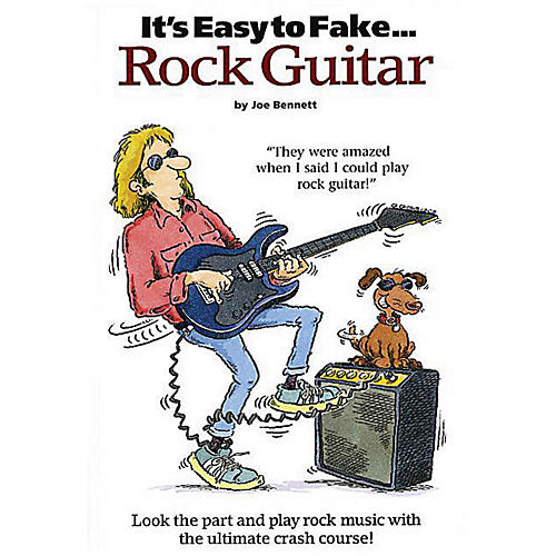 Music Sales It's Easy to Fake Rock Guitar Music Sales America Series Softcover Written by Joe Bennett-thumbnail