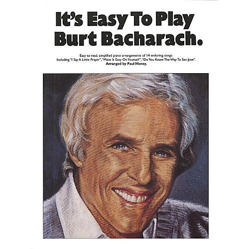 Music Sales It's Easy to Play Burt Bacharach Music Sales America Series Softcover-thumbnail