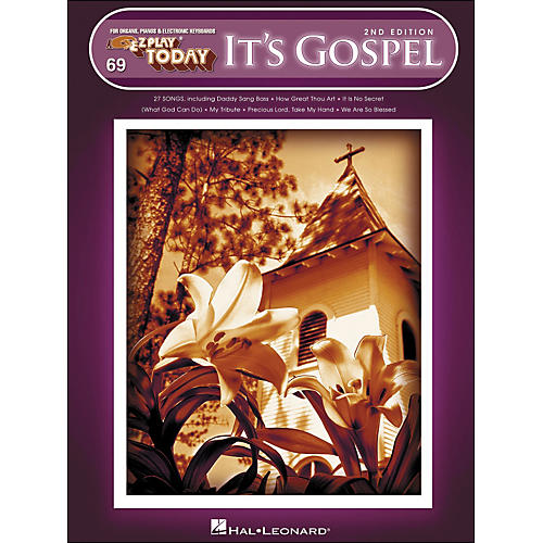 Hal Leonard It's Gospel 2nd Edition E-Z Play 69