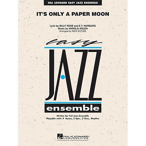 Hal Leonard It's Only a Paper Moon Jazz Band Level 2 Arranged by Rick Stitzel-thumbnail