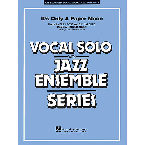 Hal Leonard It's Only a Paper Moon (Vocal Solo with Jazz Ensemble (Key: Eb)) Jazz Band Level 3-4 by Harold Arlen-thumbnail