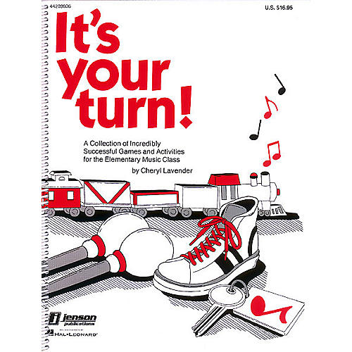 Hal Leonard It's Your Turn (Resource of Games and Activities) TEACHER ED Composed by Cheryl Lavender