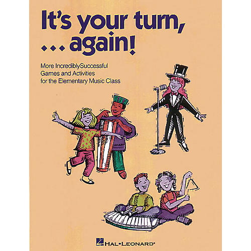 Hal Leonard It's Your Turn... Again! (Resource of Games and Activities) TEACHER ED Composed by Cheryl Lavender-thumbnail