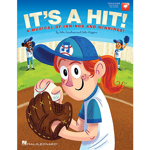 Hal Leonard It's a Hit! (A Musical of Innings and Winnings!) Performance/Accompaniment CD Composed by John Jacobson-thumbnail
