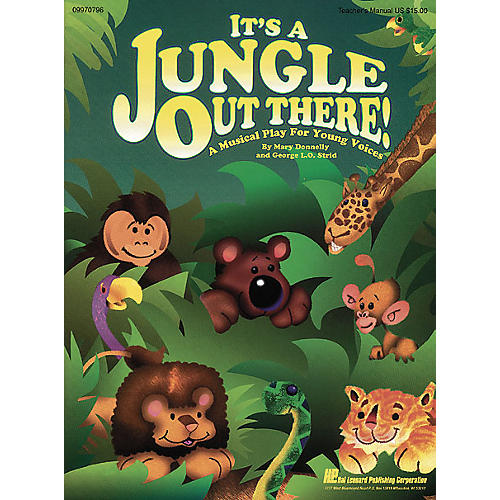 Hal Leonard It's a Jungle Out There (Musical) ShowTrax CD Composed by Mary Donnelly-thumbnail