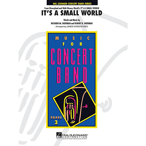 Hal Leonard It's a Small World - Young Concert Band Level 3 by James Christensen-thumbnail