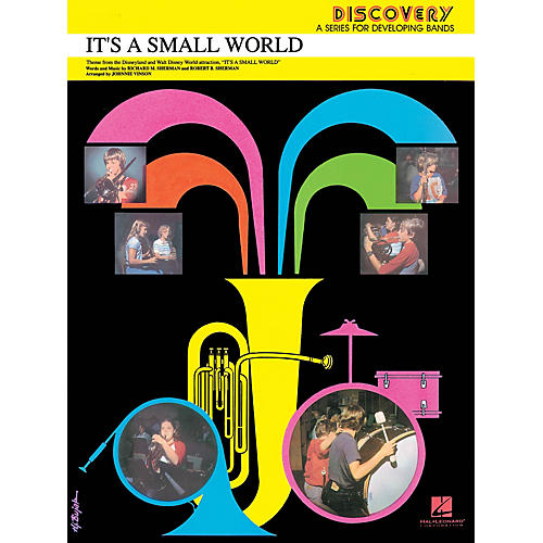 Hal Leonard It's a Small World Concert Band Level 1.5 Arranged by Johnnie Vinson
