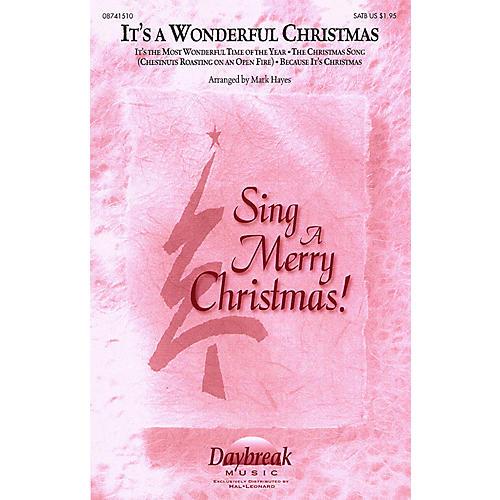 Daybreak Music It's a Wonderful Christmas (Medley) IPAKO Arranged by Mark Hayes