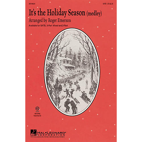 Hal Leonard It's the Holiday Season (Medley) SATB arranged by Roger Emerson