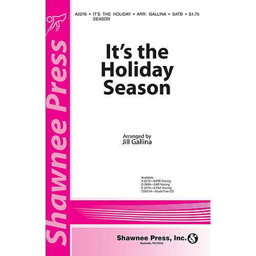 Shawnee Press It's the Holiday Season SAB Arranged by Jill Gallina-thumbnail