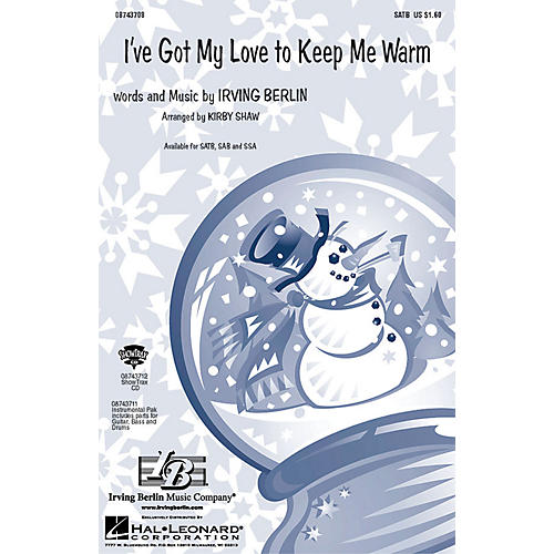 Hal Leonard I've Got My Love to Keep Me Warm SATB arranged by Kirby Shaw-thumbnail