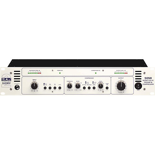 TL Audio Ivory 5050 Mono Tube Preamp and Compressor
