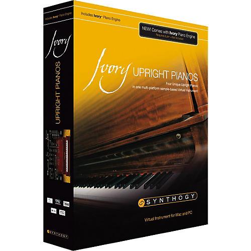Synthogy Ivory Upright Pianos Virtual Instrument