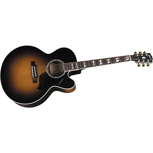 Gibson J-185 EC Acoustic-Electric Guitar Vintage Sunburst-thumbnail