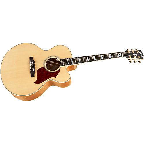 Gibson J-185 EC Super Quilt Acoustic-Electric Guitar