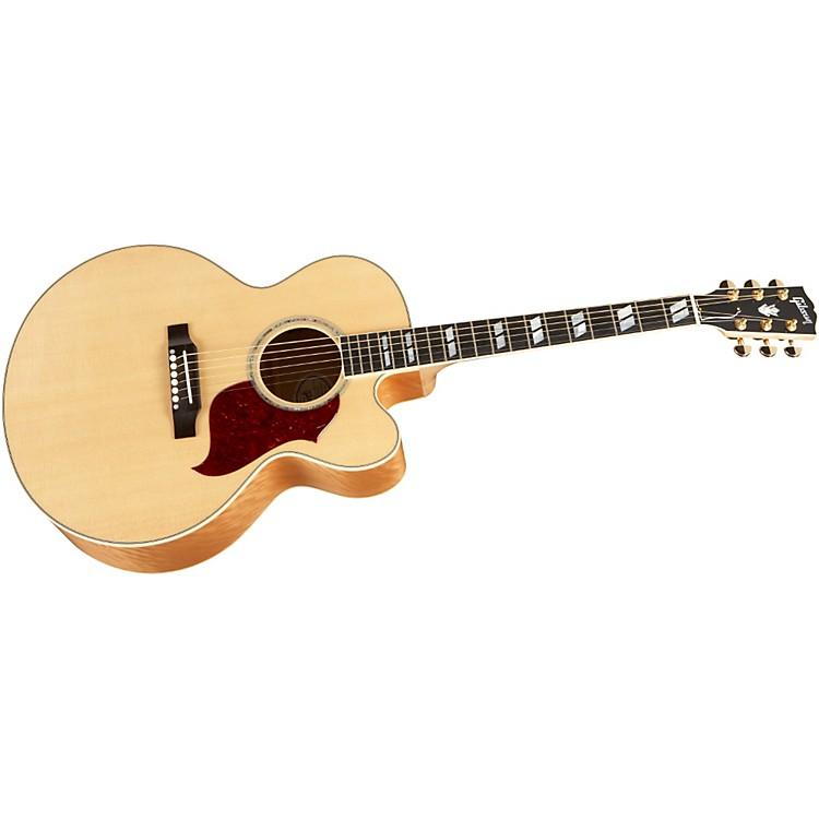 GibsonJ-185 EC Super Quilt Acoustic-Electric Guitar
