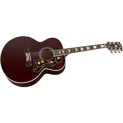 Gibson J-200 Burgundy Finish Acoustic-Electric Guitar