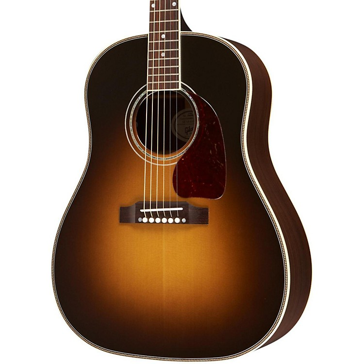 GibsonJ-45 Custom Acoustic/Electric GuitarVintage SunburstGold Hardware