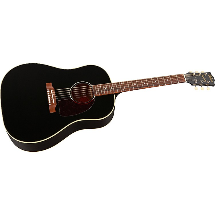 Gibson J-45 Ebony Finish Acoustic Guitar