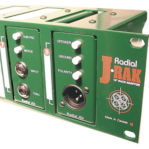 Radial Engineering J-RAK 2-Space Rack Adapter for 8 Units