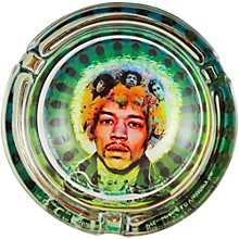 C&D Visionary J. Hendrix Face Glass Ashtray