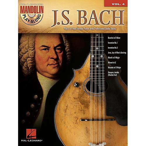 Hal Leonard J.S. Bach - Mandolin Play-Along Vol. 4 Book/CD-thumbnail