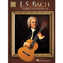 Hal Leonard J.S. Bach For Easy Guitar With Tab