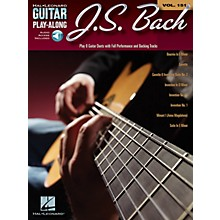 Cherry Lane J.S. Bach (Guitar Play-Along Volume 151) Guitar Play-Along Series Softcover Audio Online