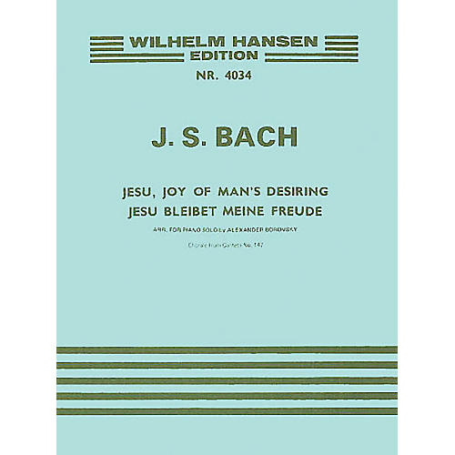 Music Sales J.S. Bach: Jesu, Joy Of Man's Desiring (Piano) Music Sales America Series-thumbnail