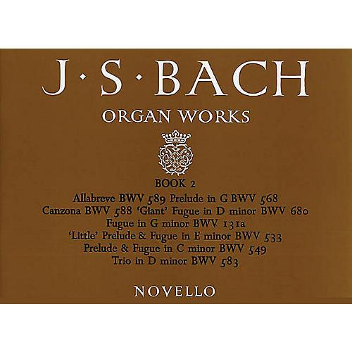 Music Sales J.S. Bach: Organ Works Book 2 Music Sales America Series-thumbnail