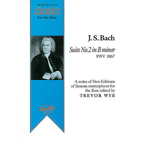 Music Sales J.S.Bach: Suite No.2 In B Minor BWV 1067 Music Sales America Series-thumbnail