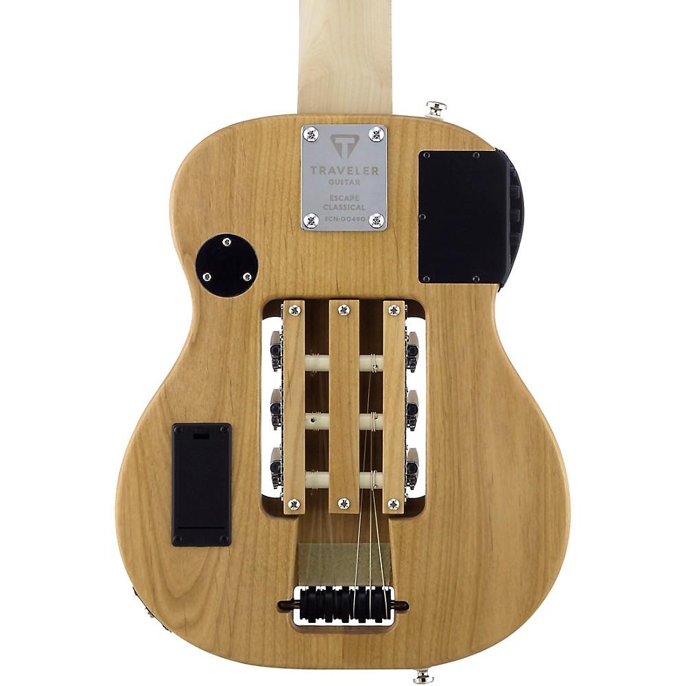 traveler guitar escape classical nylon string acoustic electric guitar natural ebay. Black Bedroom Furniture Sets. Home Design Ideas