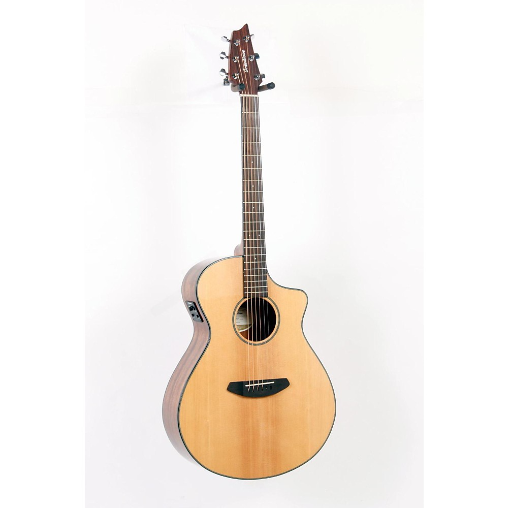 Used Breedlove Discovery Concert Cutaway Acoustic-Electric Guitar Natural 888365273204