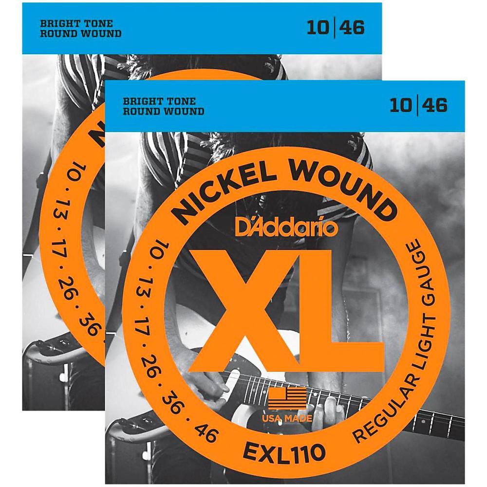 "Strings - D""addario Exl110 Nickel Wound Light Electric Guitar Strings ..."