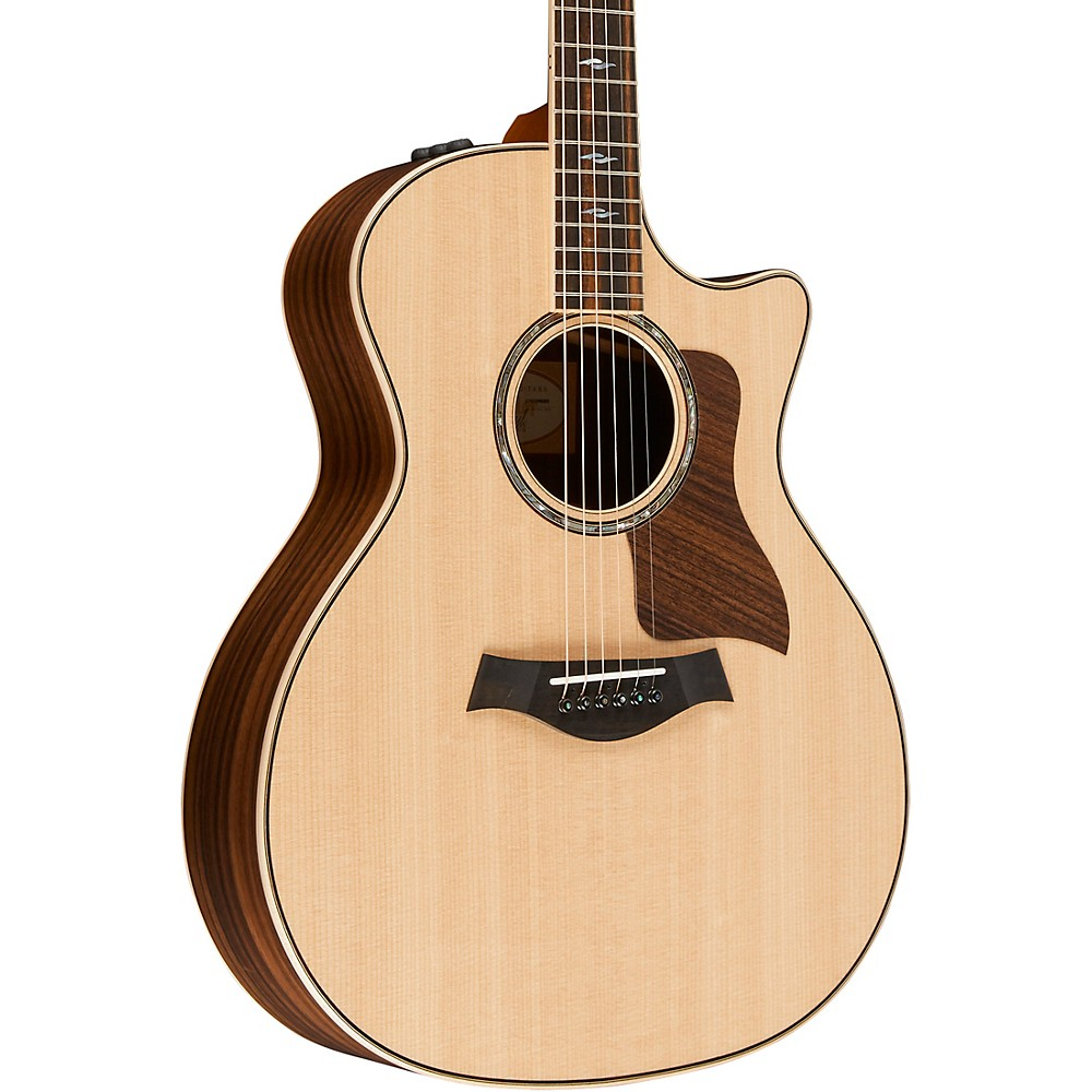 taylor 814ce grand auditorium cutaway es2 acoustic electric guitar natural ebay. Black Bedroom Furniture Sets. Home Design Ideas