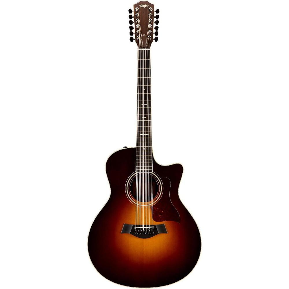 taylor 756ce gs 12 string cutaway es2 acoustic electric guitar vintage sunburst ebay. Black Bedroom Furniture Sets. Home Design Ideas