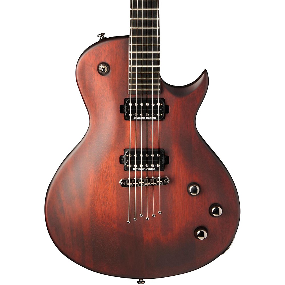 washburn pxl10 parallaxe series electric guitar walnut stain ebay. Black Bedroom Furniture Sets. Home Design Ideas