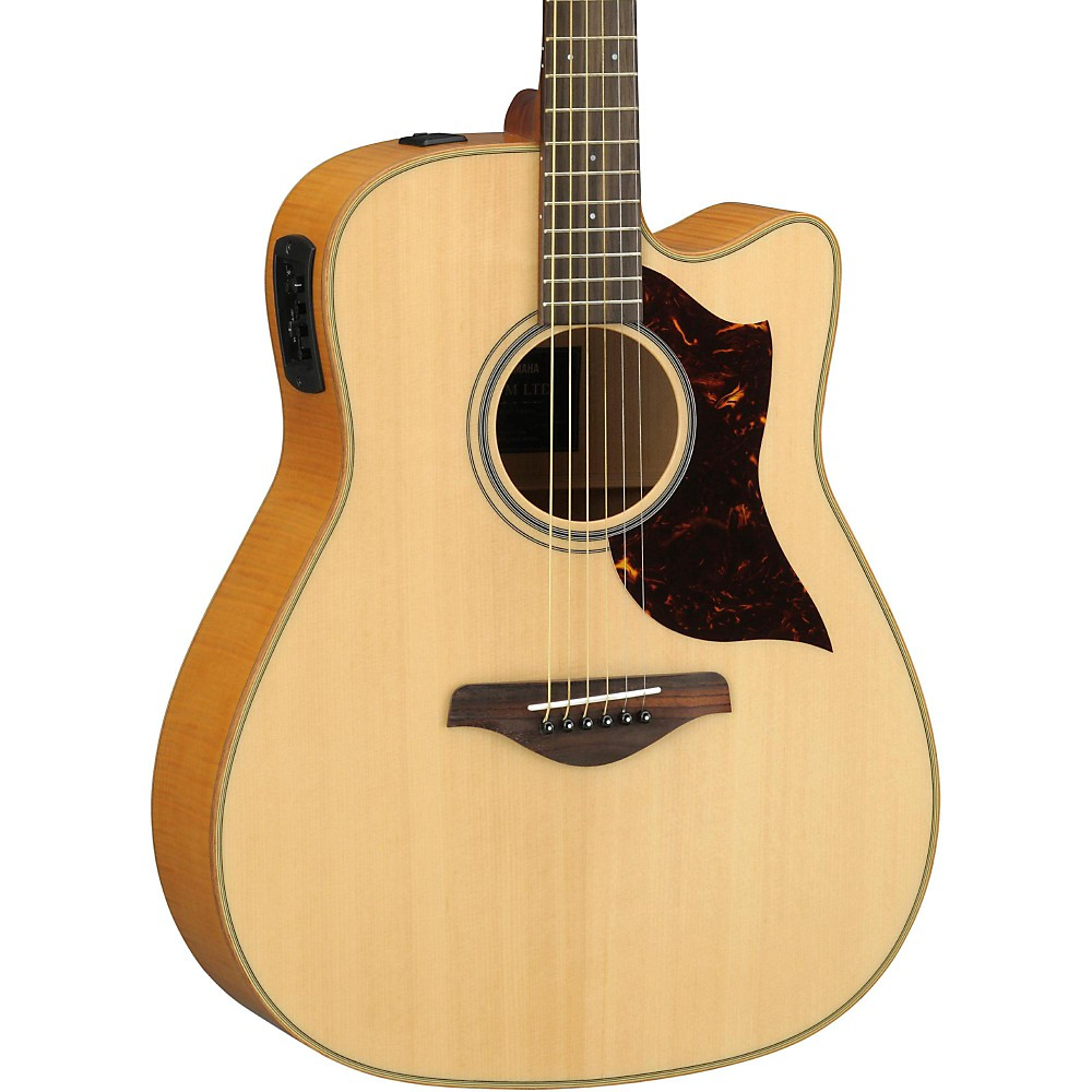 Yamaha a1fmhc a series flame maple dreadnought acoustic for Yamaha series a