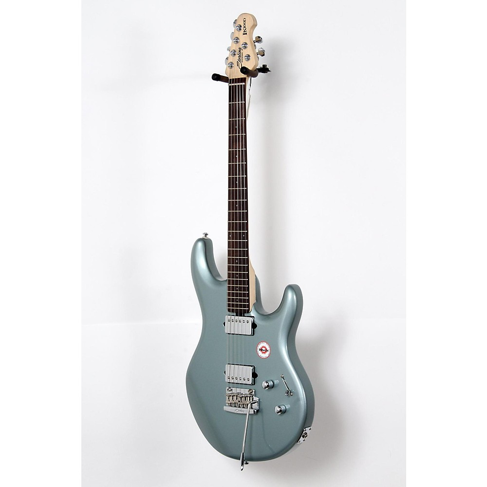 sterling by music man lk100d electric guitar luke blue 190839029560 ebay. Black Bedroom Furniture Sets. Home Design Ideas